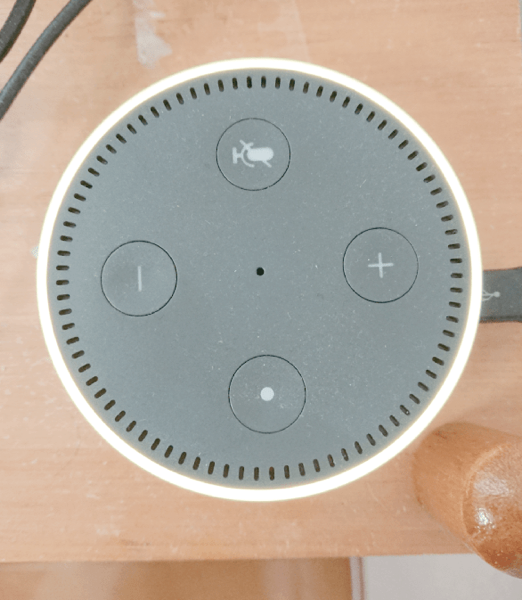 AmazonAlexa YellowLine
